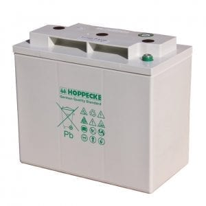 Hoppecke SunPower VRM 6V 200 C/100: 198Ah Valve Regulated Lead-Acid Battery