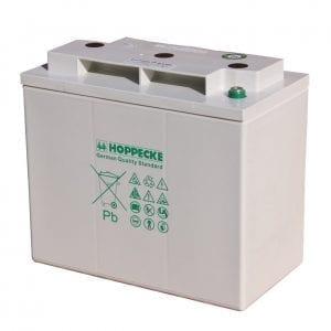 Hoppecke SunPower VRM 6V 200 C/100: 198Ah Valve Regulated Lead-Acid Battery