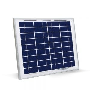OmniPower 10W Polycrystalline PV Solar Panel - 36 Cells