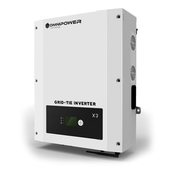 OmniPower 17kW 48V Optimised 3-Phase Grid-Tie Inverter for PV Solar