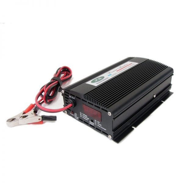 PowerMaster Digital Battery Charger 12V / 25A with Digital Display