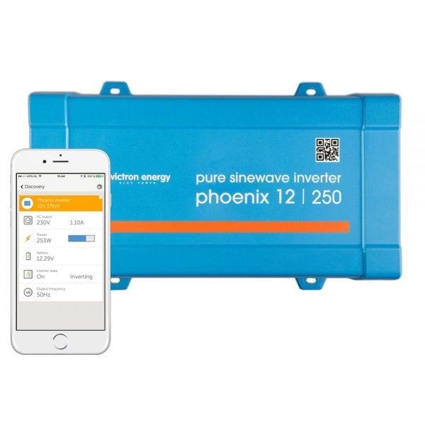 Victron Phoenix Compact 24V 180VA Sinewave Inverter - IEC Outlet