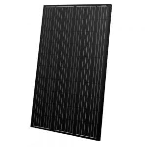 AEG AS-M607B 280W Photovoltaic Solar Panel - 60 Cells (Black)