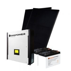3kW Hybrid Solar Kit - Pro
