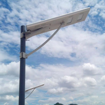 All In One Integrated Solar Street Light - 20W