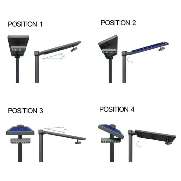 Optimal One Integrated Solar Street Light - 40W