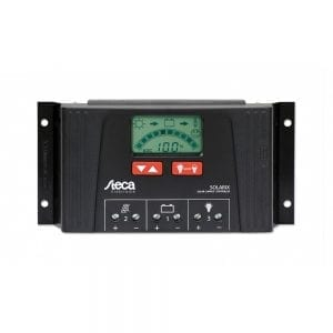 Steca Solarix 12V / 24V 40A Charge Controller LCD display
