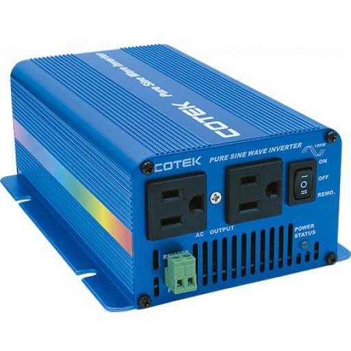 Cotek 150W / 24V Sinewave inverter