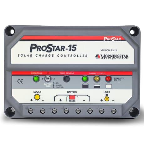 Morningstar ProStar 30A / 12V or 24V PWM Charge Controller